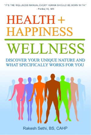health + Happiness = wellness
