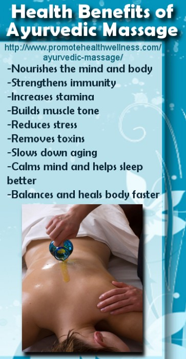 Health Benefits of Ayurvedic Massage