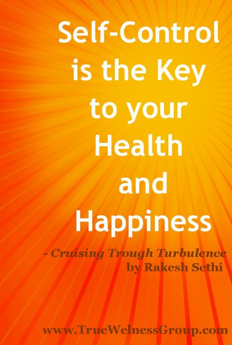 self control- key to your health and happiness