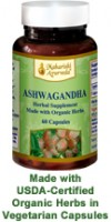 Ashwagandha herbal tablets