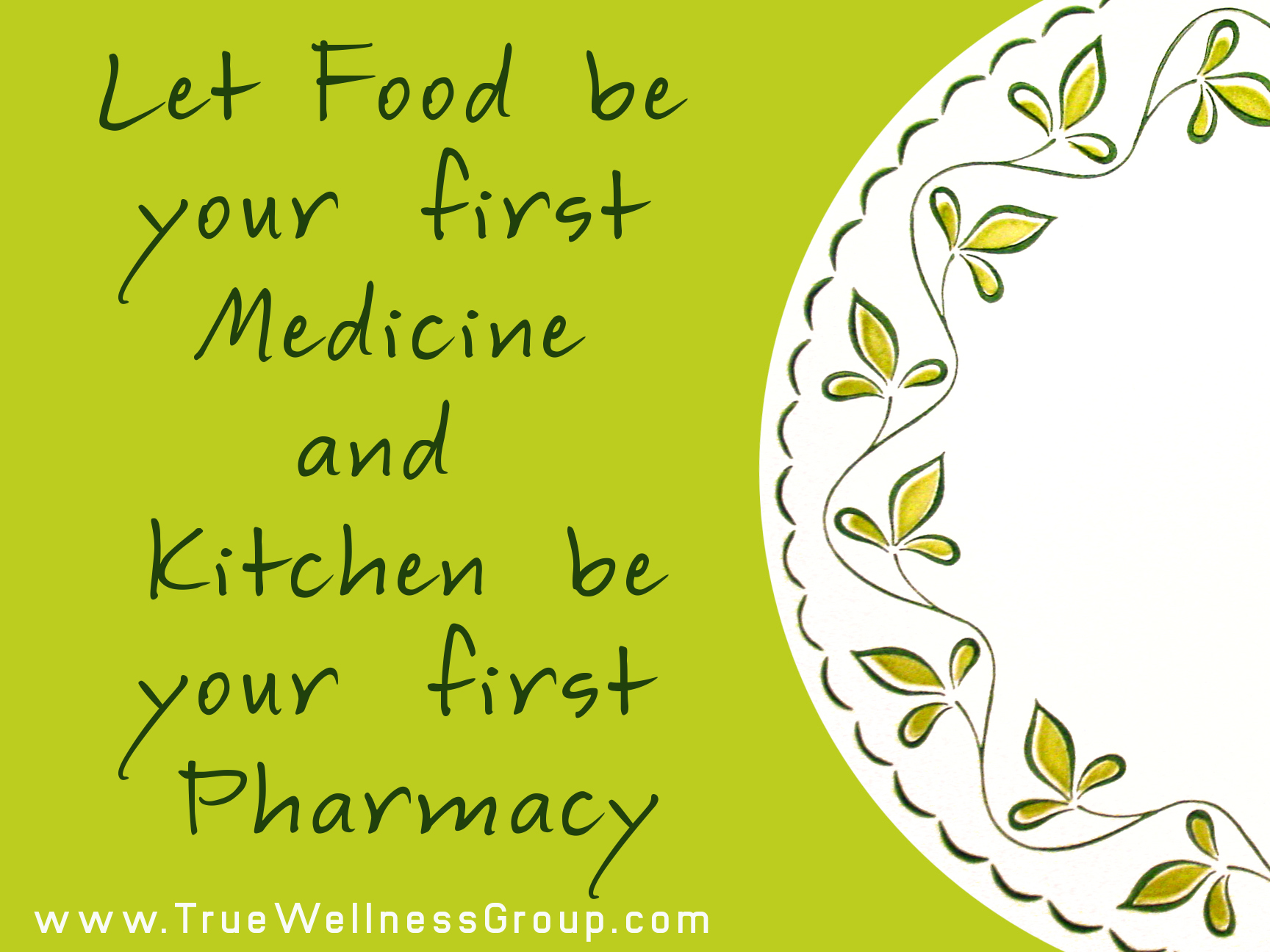 kitchen is your pharmacy