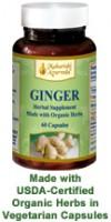 Ginger Herb Vegetarian Capsules