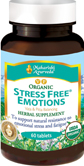 Herbs for anxiety, stress tablets