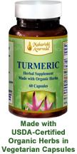 Organic Turmeric Vege Capsules
