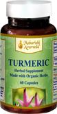 Turmeric Capsules Organic Vegetarian